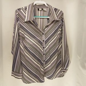 Studio 1940 Women's Button Down Top 18/20W